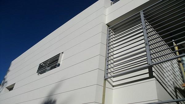 External honeycomb panel application