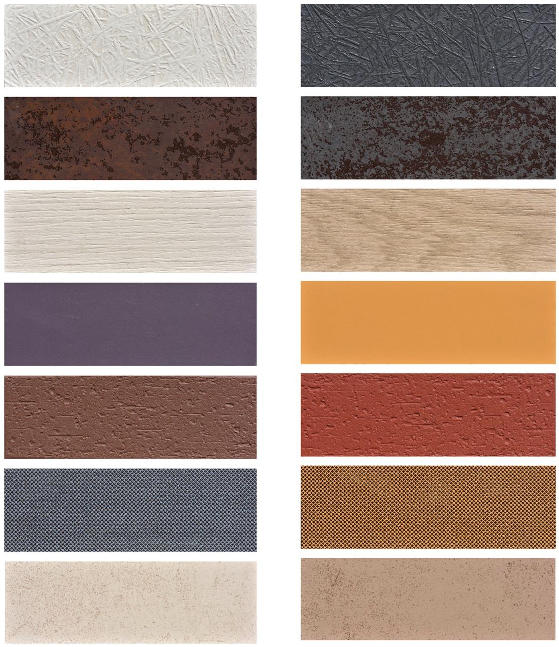 Honeycomb Panel Colors