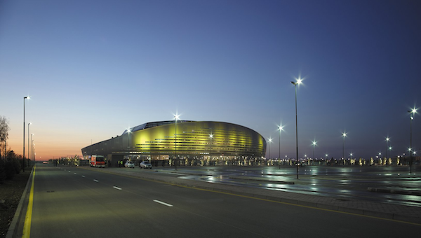Astana Arena by night - small