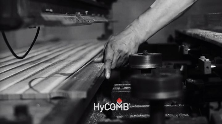 HyCOMB panels: precision cutting as part of the manufacturing process