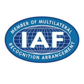 International Accreditation Forum (IAF) logo