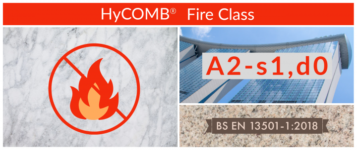 HyCOMB EN13501 A2 s1 d0 rated
