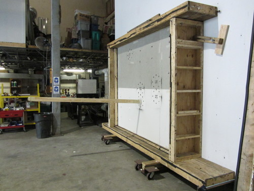 HyCOMB Panels missing projection test - honeycomb panels safety testing