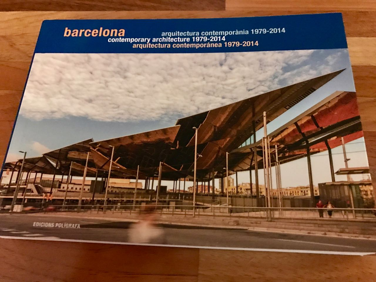 Encants Barcelona contemporary architecture brochure