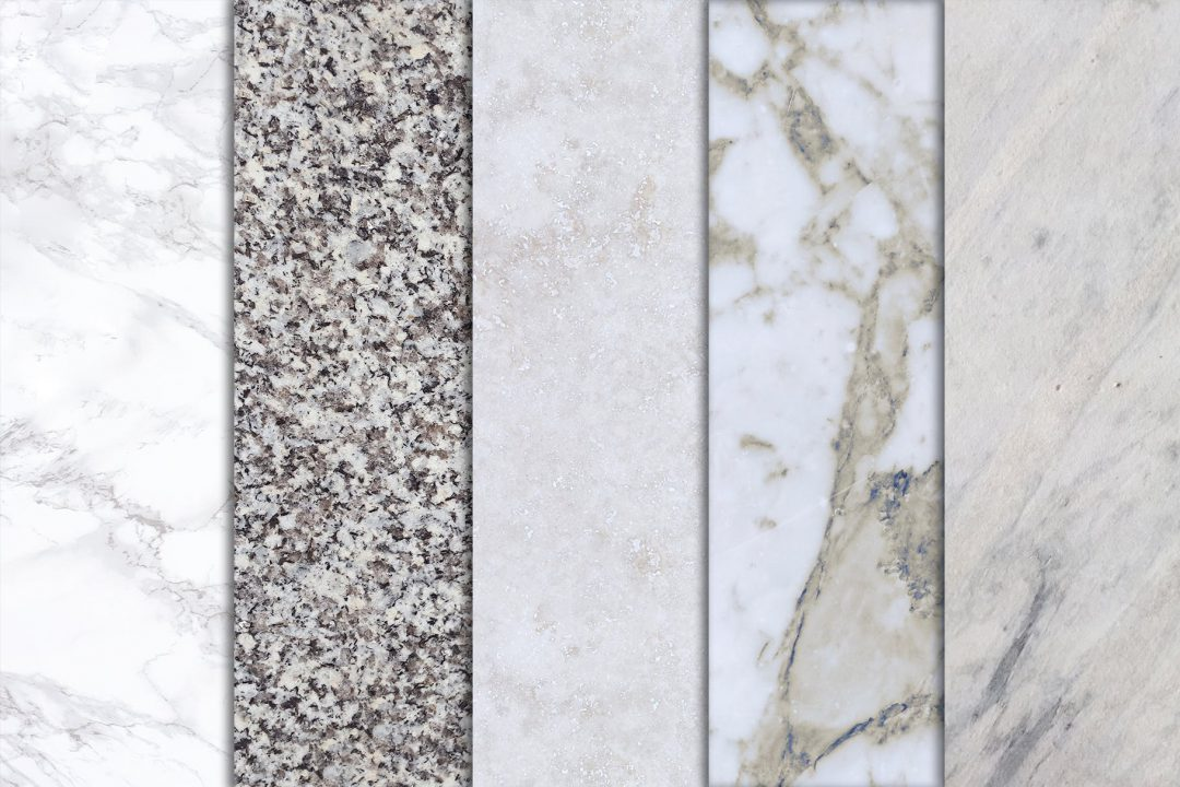 HyCOMB surface finishes for stone tabletops